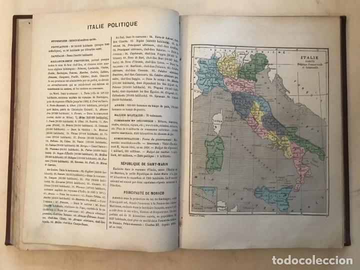 Arte: Atlas universel, hacia 1875. A. Pagès. Con 75 mapas a color - Foto 15 - 199376696