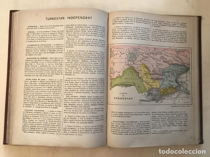 Arte: Atlas universel, hacia 1875. A. Pagès. Con 75 mapas a color - Foto 17 - 199376696