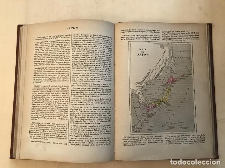 Arte: Atlas universel, hacia 1875. A. Pagès. Con 75 mapas a color - Foto 18 - 199376696