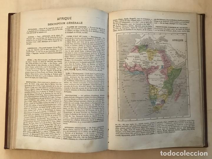 Arte: Atlas universel, hacia 1875. A. Pagès. Con 75 mapas a color - Foto 19 - 199376696