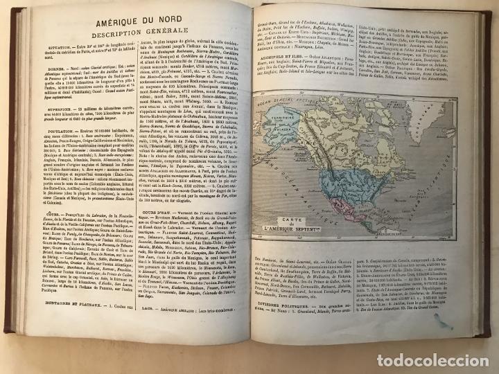 Arte: Atlas universel, hacia 1875. A. Pagès. Con 75 mapas a color - Foto 21 - 199376696