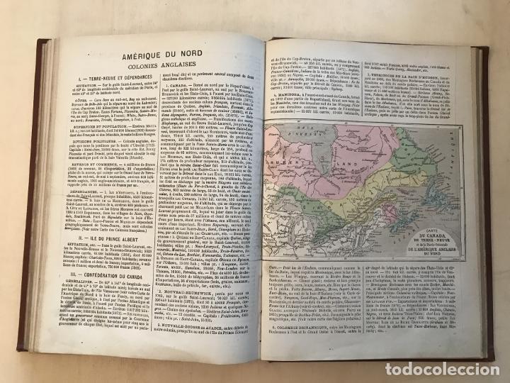 Arte: Atlas universel, hacia 1875. A. Pagès. Con 75 mapas a color - Foto 22 - 199376696