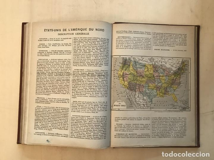 Arte: Atlas universel, hacia 1875. A. Pagès. Con 75 mapas a color - Foto 23 - 199376696