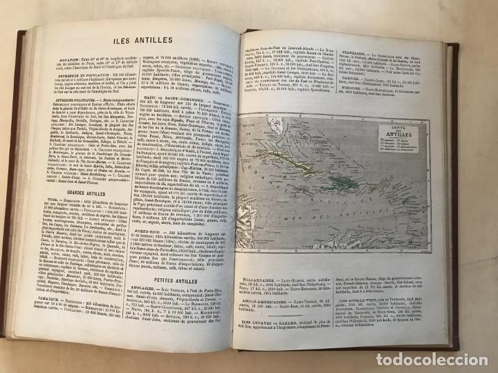 Arte: Atlas universel, hacia 1875. A. Pagès. Con 75 mapas a color - Foto 26 - 199376696