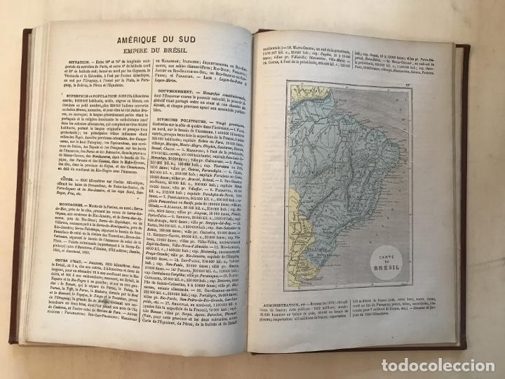 Arte: Atlas universel, hacia 1875. A. Pagès. Con 75 mapas a color - Foto 28 - 199376696