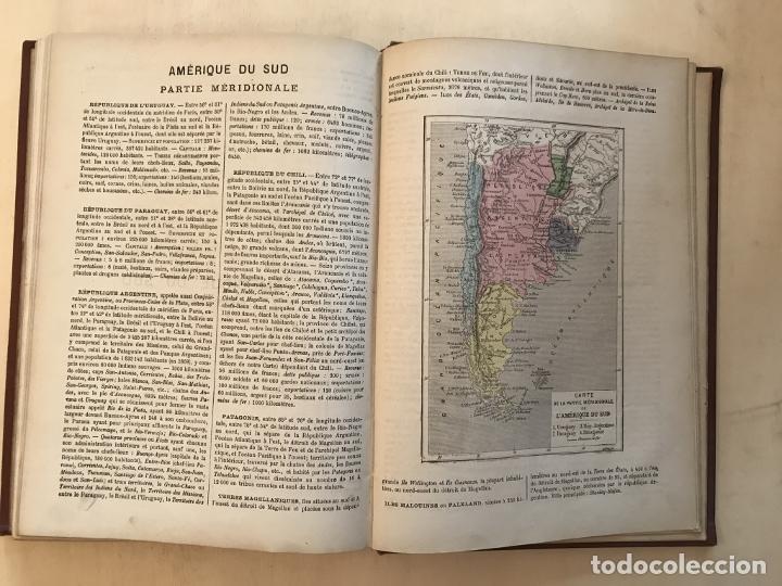 Arte: Atlas universel, hacia 1875. A. Pagès. Con 75 mapas a color - Foto 29 - 199376696