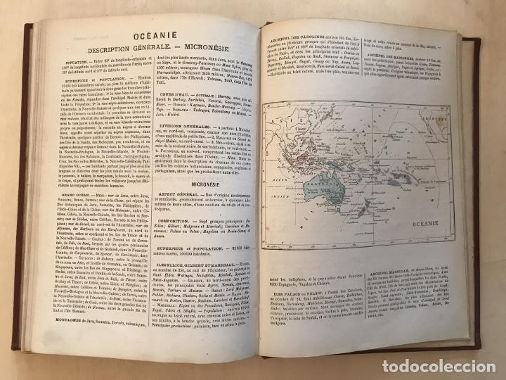 Arte: Atlas universel, hacia 1875. A. Pagès. Con 75 mapas a color - Foto 30 - 199376696