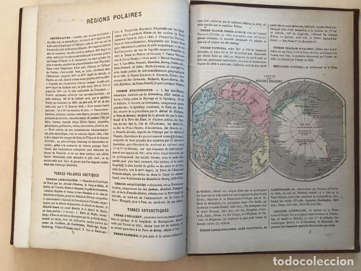 Arte: Atlas universel, hacia 1875. A. Pagès. Con 75 mapas a color - Foto 31 - 199376696