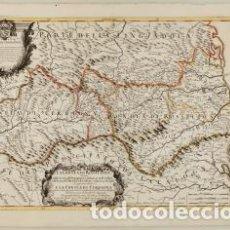 Arte: LA CONTEA DI ROSSILIONE DIUISA NELLA VICARIA DE PERPIGNANO, E SUBUICARIA DI VALSPIR, E NELLA VICARIA. Lote 199620777