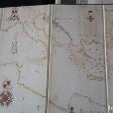 Arte: PORTOLÀ DE LA MEDITERRÀNIA. ANDREW WELSH. 1674. REPRODUCCIÓN. Lote 199998332