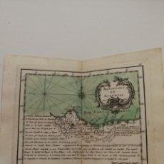 Art: MAPA PRINCIPADO ASTURIAS,CANTABRIA.ATLAS GEOGRÁFICO REINO ESPAÑA ISLAS ADYACENTES.TOMÁS LÓPEZ.1767. Lote 200549120