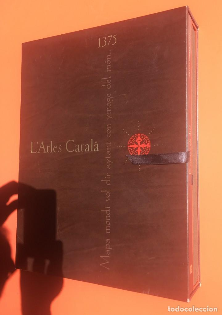 Arte: ATLAS CATALAN - ATLES CATALÁ - 1375 - FACSÍMIL - ESTUCHE CON 6 HOJAS DEL MAPA - CRESQUES - RARO - Foto 2 - 204278945