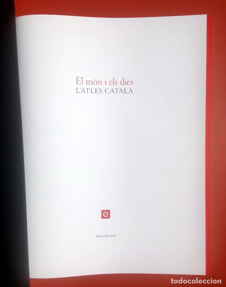 Arte: ATLAS CATALAN - ATLES CATALÁ - 1375 - FACSÍMIL - ESTUCHE CON 6 HOJAS DEL MAPA - CRESQUES - RARO - Foto 8 - 204278945