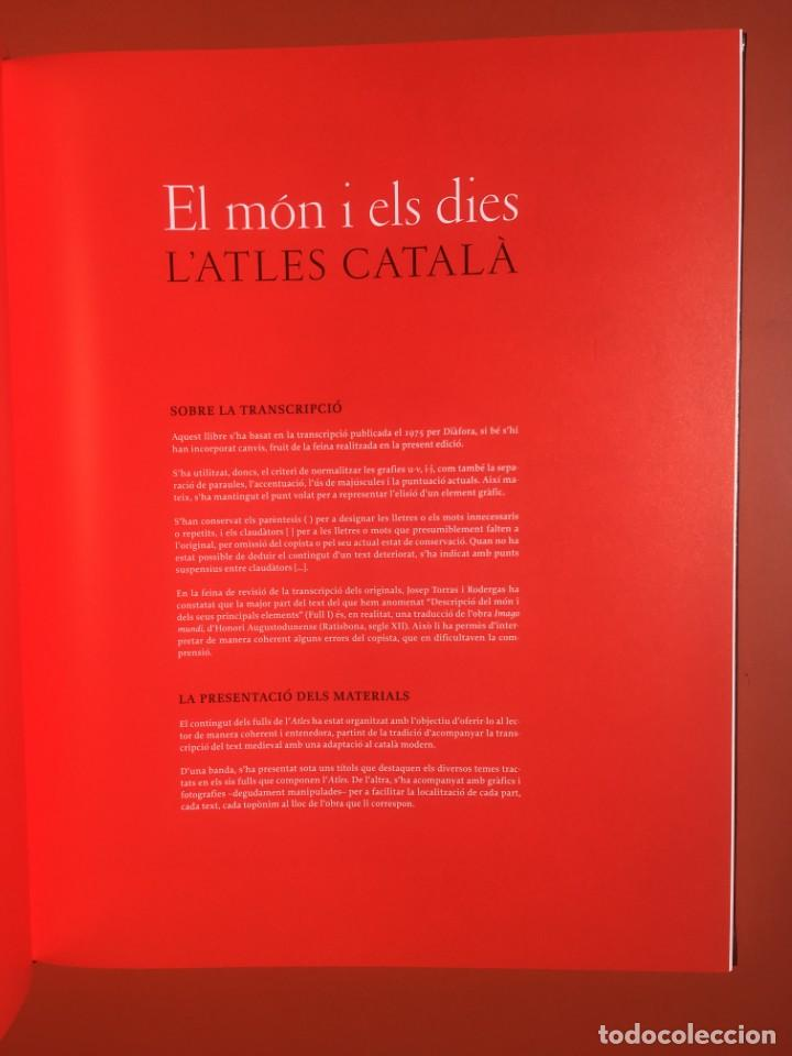 Arte: ATLAS CATALAN - ATLES CATALÁ - 1375 - FACSÍMIL - ESTUCHE CON 6 HOJAS DEL MAPA - CRESQUES - RARO - Foto 10 - 204278945