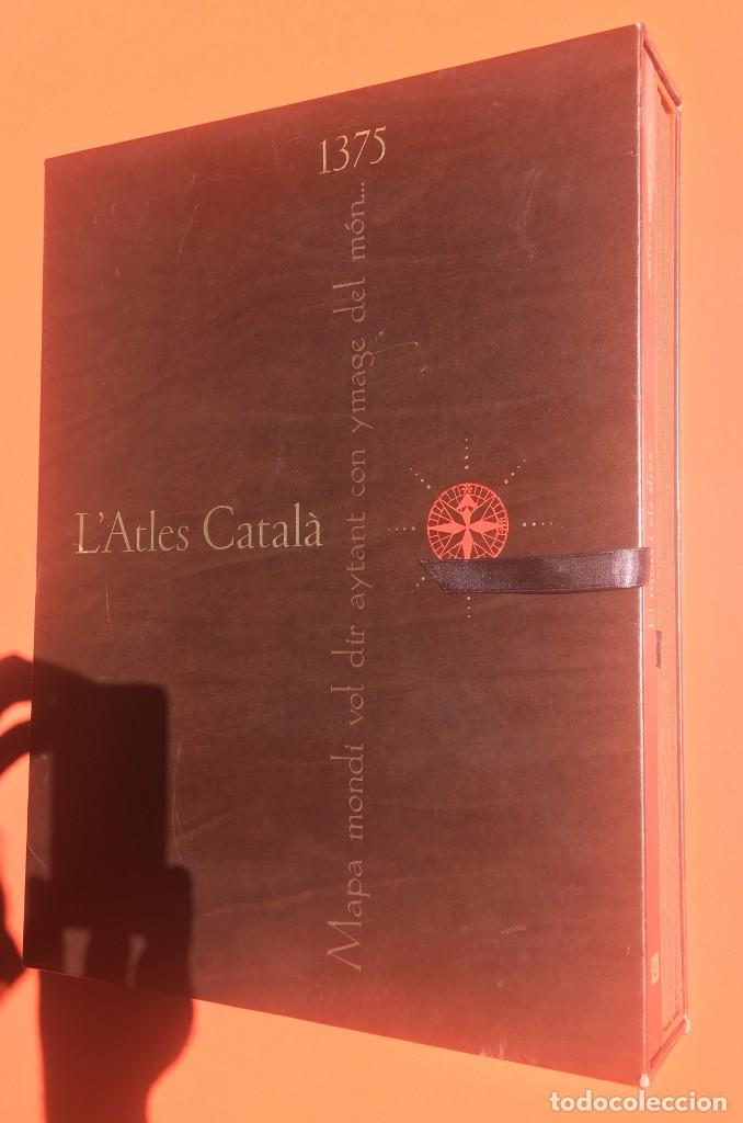 Arte: ATLAS CATALAN - ATLES CATALÁ - 1375 - FACSÍMIL - ESTUCHE CON 6 HOJAS DEL MAPA - CRESQUES - RARO - Foto 29 - 204278945