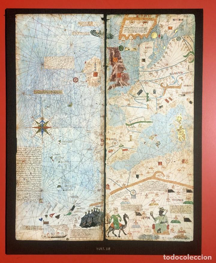 Arte: ATLAS CATALAN - ATLES CATALÁ - 1375 - FACSÍMIL - ESTUCHE CON 6 HOJAS DEL MAPA - CRESQUES - RARO - Foto 34 - 204278945