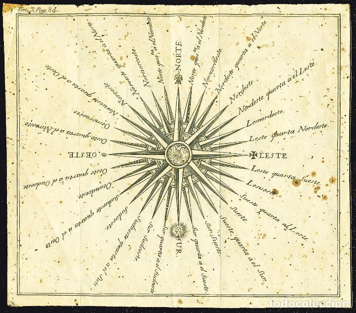 Arte: Dos grabados náuticos del siglo XVIII - Foto 7 - 204457891