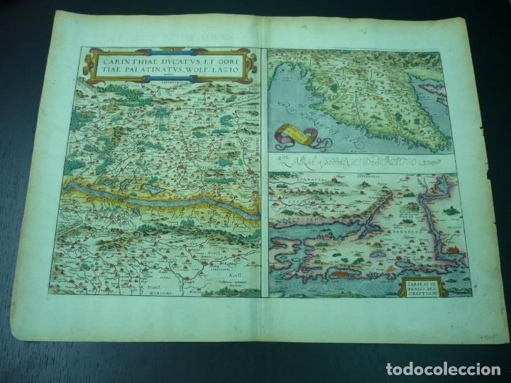 Arte: Johannes Van Keulen. Paskaart, van de Zee-Kusten van Valence, Catalonien, Languedocq en Provence Tus - Foto 2 - 17727794