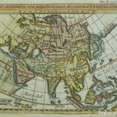 Arte: MAPA DE ASÍA, 1782. DELISLE/CHEVIGNY. Lote 205029708