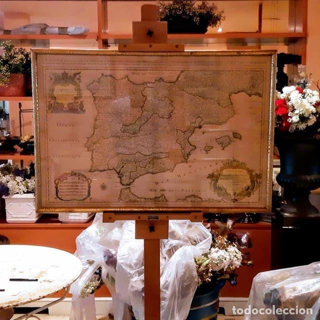 MAPA DE ESPAÑA EDICIÓN FRANCESA (Arte - Cartografía Antigua (hasta S. XIX))
