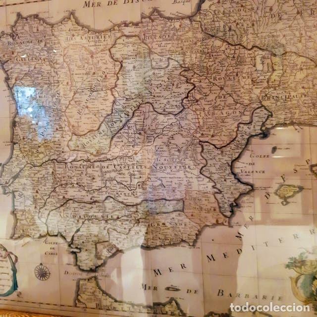 Arte: Mapa de España edición francesa - Foto 3 - 205160965
