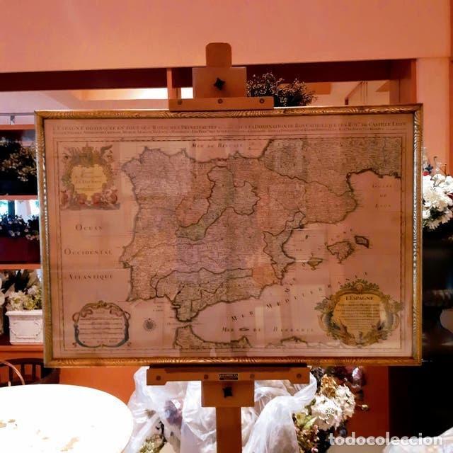 Arte: Mapa de España edición francesa - Foto 5 - 205160965