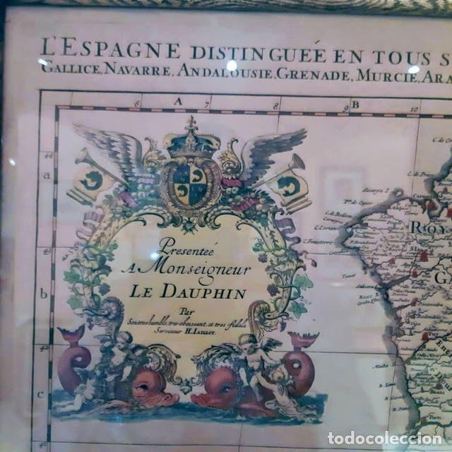 Arte: Mapa de España edición francesa - Foto 6 - 205160965