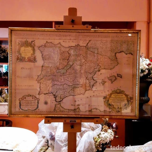 Arte: Mapa de España edición francesa - Foto 7 - 205160965