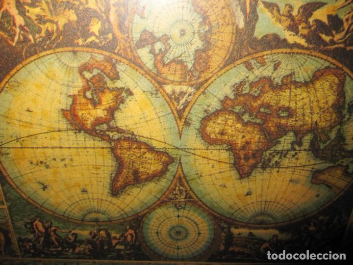 Arte: Cuadro Mapa Orbis Terrarum Nova Et Accuratissima Tabula. Nicolau Visscher Nicolas Nicolaes 1658 - Foto 3 - 205317806