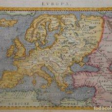 Arte: MAPA DE EUROPA, 1620. PTOLOMEO/PORRO/MAGINI/GALIGNANI. Lote 205319471