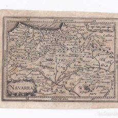 Arte: MAPA ANTIGUO NAVARRA SIGLO XVII [DESCRIPTIO REGGNI NAVARRAE].[1620] [PETRUS BERTIUS-HONDIUS]. Lote 205810695