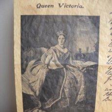 Arte: QUEEN VICTORIA - REINA VICTORIA - REINO UNIDO. Lote 206332545