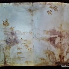 Arte: MAPA ISLA LA ESPAÑOLA. SIGLO XVI. FACSÍMIL DE GRAN CALIDAD BIBLIOTECA COLOMBINA.. Lote 206461368