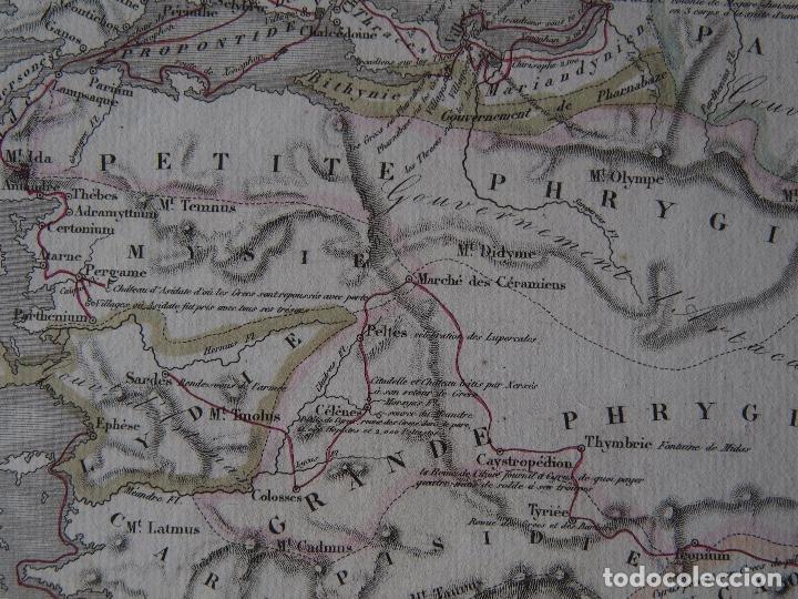 Arte: Mapa de la expedición del joven Ciro y de la retirada de los Diez Mil. Delamarche 1838 - Foto 3 - 206537750