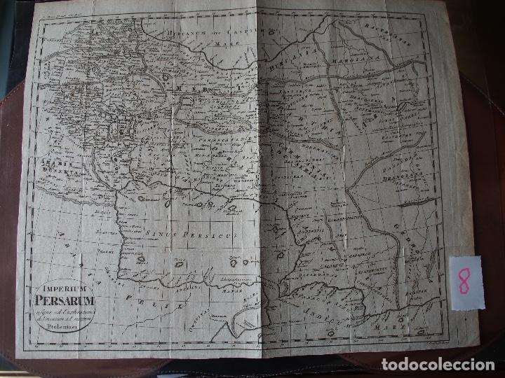 MAPA DEL IMPERIO PERSA SEGÚN PTOLOMEO IMPERIUM PERSARUM USQUE AD EUPHRATEM, DELINEATUM AD MENTEM PTO (Arte - Cartografía Antigua (hasta S. XIX))