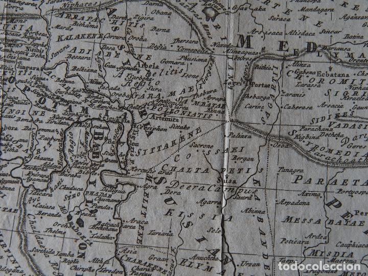 Arte: Mapa del Imperio Persa según Ptolomeo Imperium Persarum usque ad Euphratem, delineatum ad mentem Pto - Foto 3 - 206540620