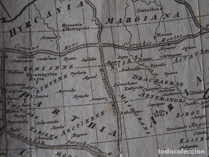 Arte: Mapa del Imperio Persa según Ptolomeo Imperium Persarum usque ad Euphratem, delineatum ad mentem Pto - Foto 4 - 206540620