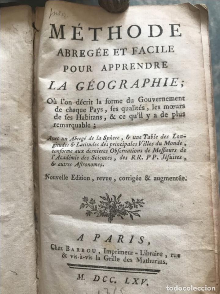 Arte: Géographie universelle, exposée...., 1765. Abbé A. Le François/Vaugondy. Mapas desplegables - Foto 5 - 207233335