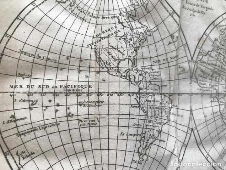 Arte: Géographie universelle, exposée...., 1765. Abbé A. Le François/Vaugondy. Mapas desplegables - Foto 11 - 207233335