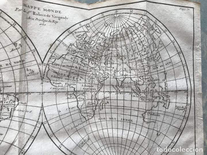 Arte: Géographie universelle, exposée...., 1765. Abbé A. Le François/Vaugondy. Mapas desplegables - Foto 12 - 207233335