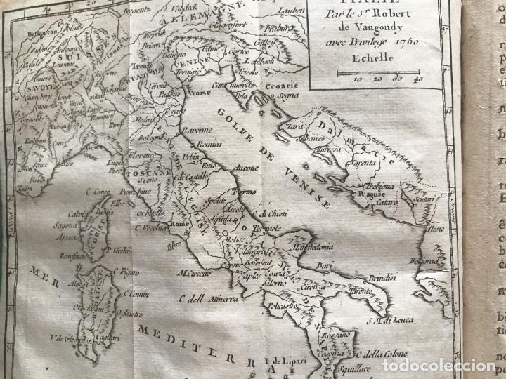 Arte: Géographie universelle, exposée...., 1765. Abbé A. Le François/Vaugondy. Mapas desplegables - Foto 17 - 207233335