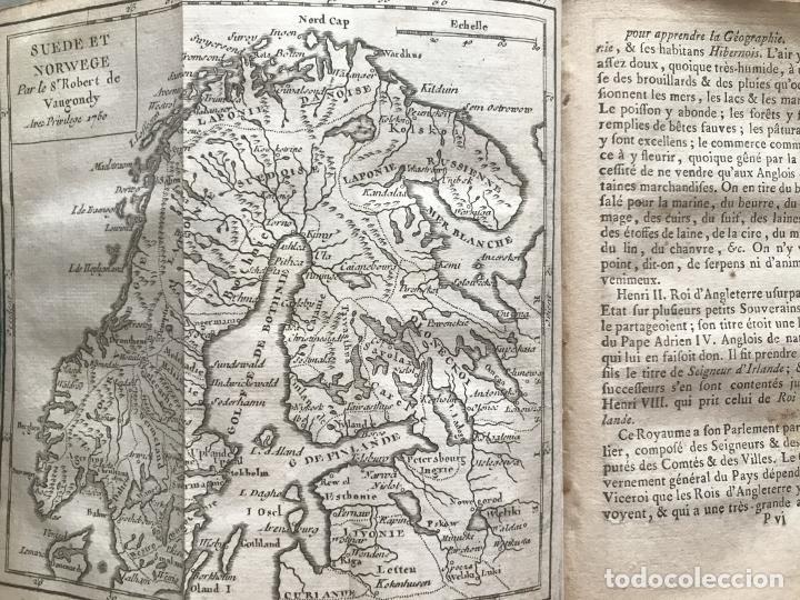 Arte: Géographie universelle, exposée...., 1765. Abbé A. Le François/Vaugondy. Mapas desplegables - Foto 22 - 207233335