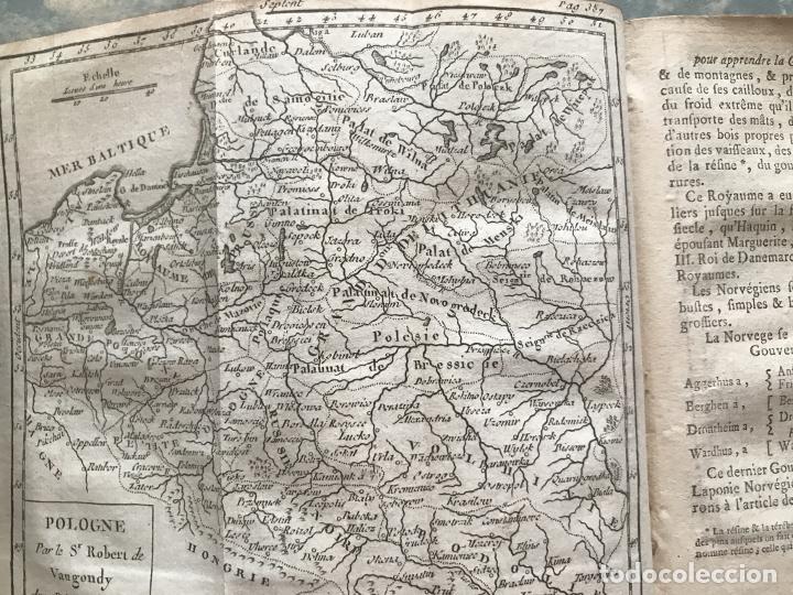 Arte: Géographie universelle, exposée...., 1765. Abbé A. Le François/Vaugondy. Mapas desplegables - Foto 23 - 207233335