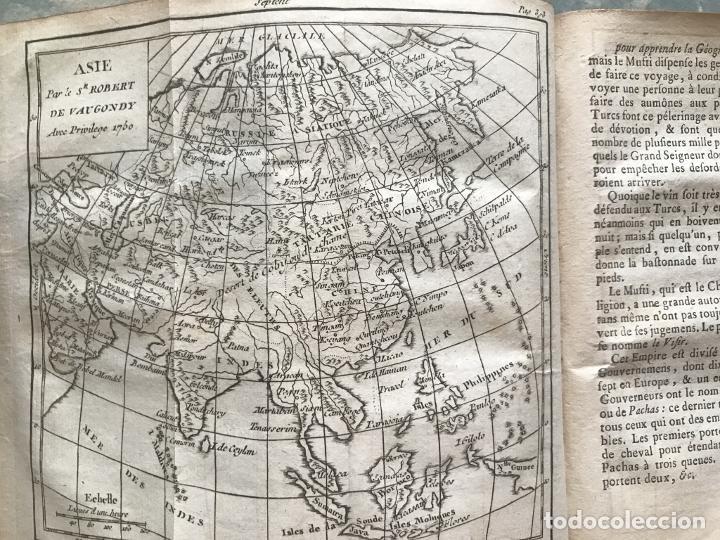 Arte: Géographie universelle, exposée...., 1765. Abbé A. Le François/Vaugondy. Mapas desplegables - Foto 26 - 207233335
