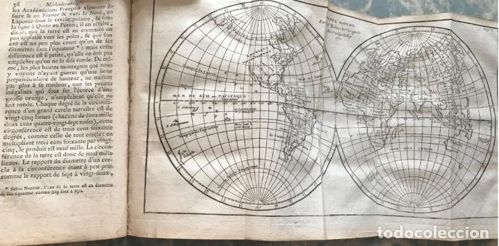 GÉOGRAPHIE UNIVERSELLE, EXPOSÉE...., 1765. ABBÉ A. LE FRANÇOIS/VAUGONDY. MAPAS DESPLEGABLES (Arte - Cartografía Antigua (hasta S. XIX))