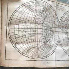 Arte: GÉOGRAPHIE UNIVERSELLE, EXPOSÉE...., 1765. ABBÉ A. LE FRANÇOIS/VAUGONDY. MAPAS DESPLEGABLES. Lote 207233335