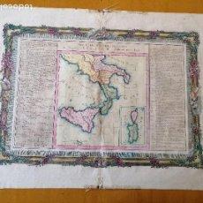 Arte: SUITE DE L'ITALIE ANCIENNE... CLAUDE BUY DE MORNAS, ATLAS HISTORIQUE ET GÉOGRAPHIQUE...1762. Lote 207313337
