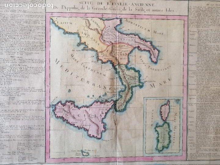 Arte: Suite de litalie ancienne... Claude Buy de Mornas, Atlas Historique et Géographique...1762 - Foto 3 - 207313337