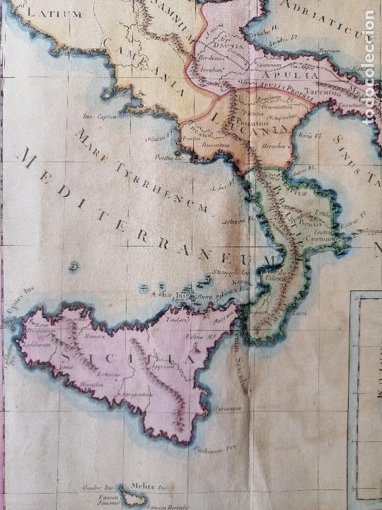 Arte: Suite de litalie ancienne... Claude Buy de Mornas, Atlas Historique et Géographique...1762 - Foto 4 - 207313337