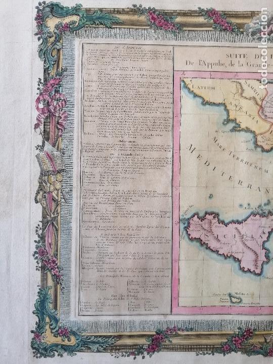 Arte: Suite de litalie ancienne... Claude Buy de Mornas, Atlas Historique et Géographique...1762 - Foto 5 - 207313337